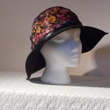 Fancy Hat Married Plain Ol' Brim