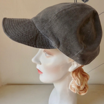 Brimmed Silk Lined Baseball Cap