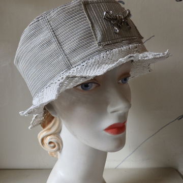 Lacy Star-brimmed Hat