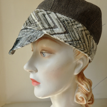 Brimmed Reversible Wedge Cap