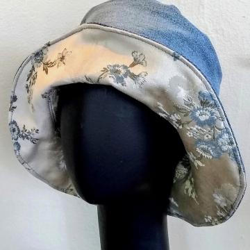 Reversible Bluejean Bucket Hat