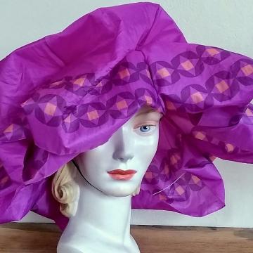 Flouncy Rain Hat