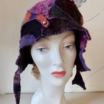 Frankencloche with optional Chin Closure