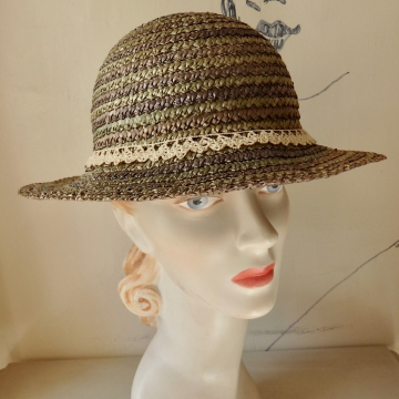 Lace Banded Sunhat
