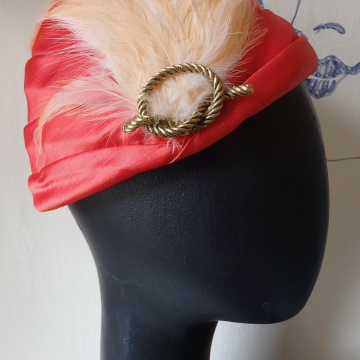 Pixie Hat with Feathers