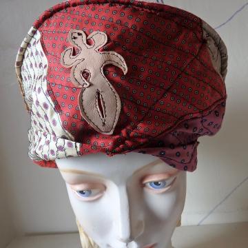 Silk Tie Hat with lil' Creature