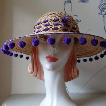 Purple PomPoms