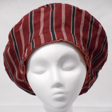 Red-toned Reversible Beret